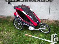 Excellent Condition Red-Single-Chariot-Cougar,