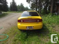 Make Chevrolet Model Cavalier Year 2003 Colour Yellow