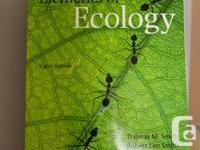 ISBN: 0 321 73607 9  Textbook for the Intro to Ecology