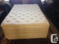 Hi we have an excellent condition Double size bed sealy