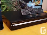 EXCELLENT CONDITION & BARELY USED ~ Sony RDR-GX350 DVD
