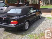 Make BMW Model 328i Cabriolet Year 1999 Colour Black