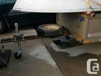 Light weight aluminum McCulluch boat in fantastic shape