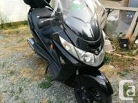 Make Suzuki kms 34011 Burgman Model S. New rear