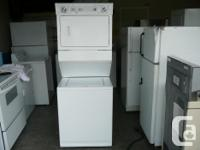 We have a very nice 1 Piece Stackable Washer & Dryer