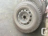Hankook iPike RW11 tires, driven lightly 2 winter