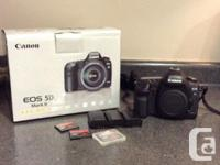 Selling a gently utilized canon 5d mark ii body for sale  Ontario