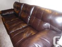 Yahtzee Onyx sofa & Loveseat Large scale, heavily