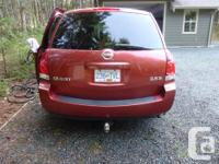 Make Nissan Model Quest Year 2004 Colour Red kms for sale  British Columbia