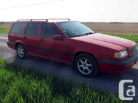 Make Volvo Model 850 Year 1995 Colour Red with Tan