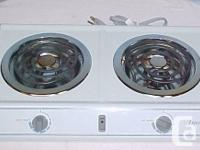 For sale is a Superior 2 Burner Electric Hot plate or