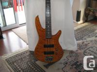 THIS STUNNING IBANEZ SR900 NECH THROUGH BASS CAN, used for sale  British Columbia