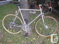 I have this initial CCM roadway bike one owner (very