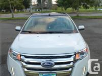 Make Ford Model Edge Year 2011 Colour White kms 134000