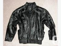 JUST REDUCED!!! I am selling my Ladies Leather bomber