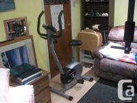 Fitness Club Exercise Bike - adjustable seat;