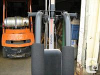 Exercise machine $25. weights are included with the