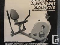 "Recumbent Dual-Action Exercycle Sears 'freespirit"""