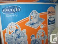 Evenflow Exersaucer - Triple Fun for 4 months to