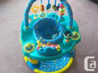 ExerSaucer used during Xmas visit. I great shape clean