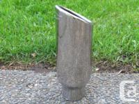 "Exhaust tip-Insulated Stainless Steel, ""Chevy"""