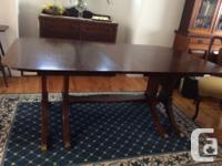 For special occasions this table can expand to seat 14