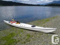 Fiberglass Sea Kayak made in Sweden by Point 65N