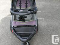 Expedition Sport Jogging Stroller. In very good