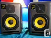KRK Subject' Series E7 Studio checks. Made use of only