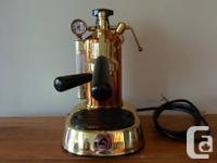 Fantastic La Pavoni Professional Expresso Coffee Maker