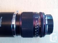 The faster f2.8 135mm telephoto lens for your Minolta