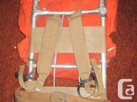 """Aluminum external frame camping """"rucksack"""". Lightweight"""