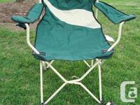 Extra Large Premium Cherokee Folding Camping Chair &