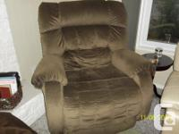 Newer orthopedic additional large recliner chair made