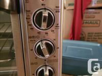Black and decker convection oven purchased Jun 2017