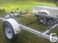 Totally rebuilt 15-18' EZ loader boat trailer new axle,