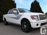 2012 Ford F-150 4x4 SuperCrew Harley Davidson 145""