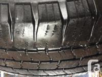 """Michelin LTX tires and Ford F-350 16"""" wheels with 245"""
