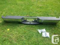 Brand new in box chrome step bumper bar that meets all