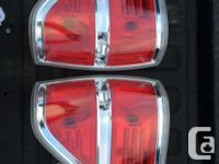 Selling my stock Chrome 2010 F150 tail lights.