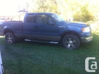 Make Ford Model F-150 Series Year 2004 Colour Blue kms