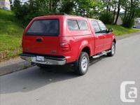 Make Ford Model F-150 SuperCrew Year 2001 Colour RED