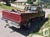 Make Ford Model F-250 Year 1993 Colour Burgundy kms