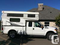 WELL-KEPT SUPERDUTY TRUCK & CAMPER COMBO PALOMINO