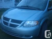 Make Dodge Model Caravan Year 2005 Colour Blue kms