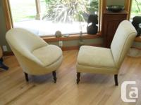 These classic antique chairs will look good in any