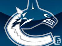 Two tickets to the Vancouver Canucks vs Florida