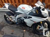 Make Aprilia Model Rsv4 Year 2012 kms 28000 Lots of