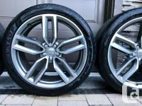 Factory Audi SQ5 21-inch wheels with Dunlop Sport Maxx