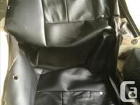 Factory leather seat covers for a 2008 super crew GMC